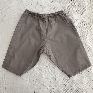Bonpoint baby trousers, unisex grey
